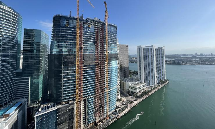 Aston Martin Residences for Sale - Construction update April 2021