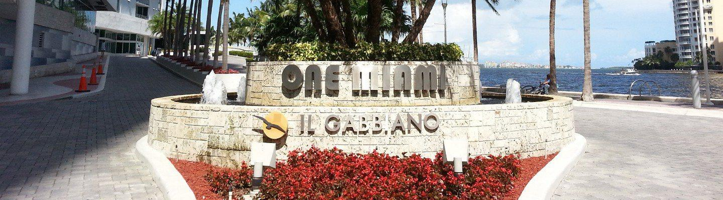 One Miami West and East condos for sale