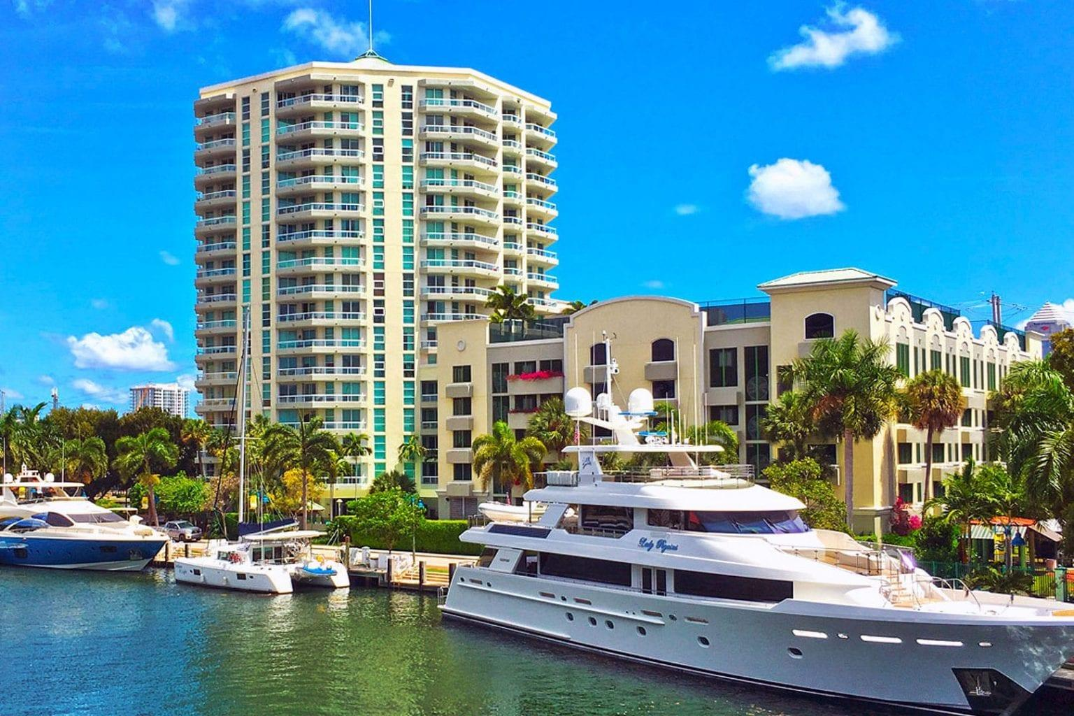 Esplanade on the River condo residences in Fort Lauderdale
