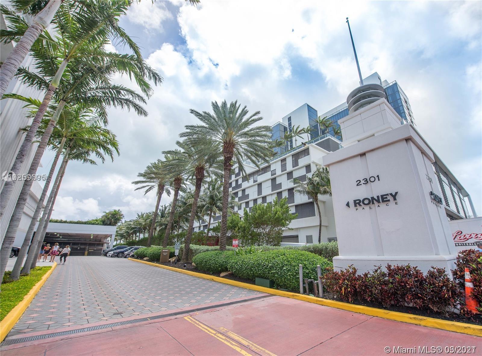 Roney Palace - Квартиры на берегу океана в Майами-Бич